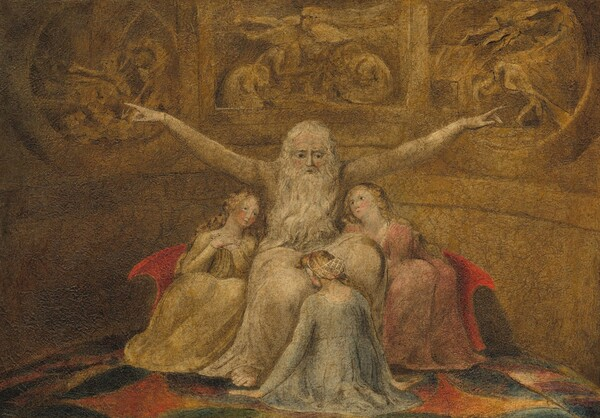 Job and His Daughters