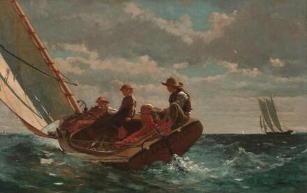 Winslow Homer, Breezing Up (A Fair Wind), 1873-1876