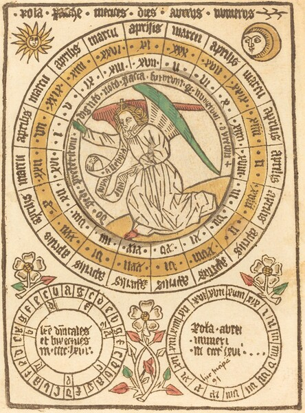 An Easter Calendar Beginning with the Year 1466