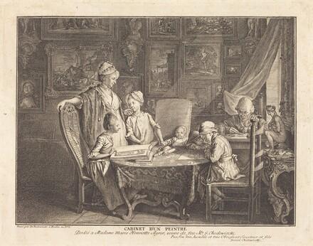 Cabinet d'un Peintre