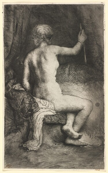 Woman with the Arrow