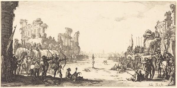 The Ordeal by Arrows (Saint Sebastian)