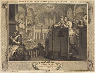 The Industrious 'Prentice performing the Dutyof a Christian