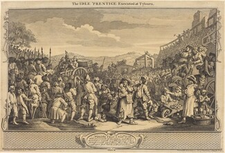 The Idle 'Prentice Executed at Tyburn