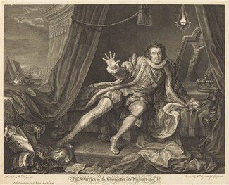 Garrick in the Role of Richard III