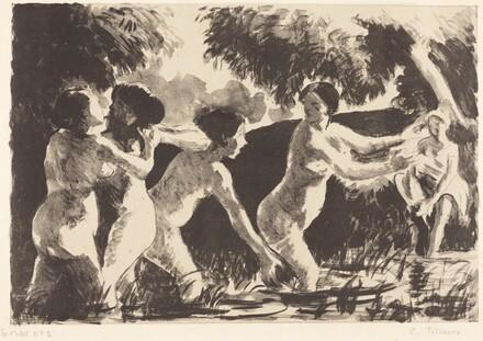 Bathers Wrestling (Baigneuses luttants)