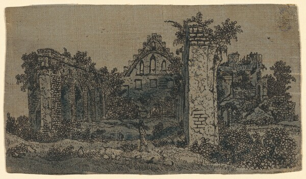 Ruins of the Abbey of Rijnsburg: Small Version