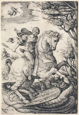 Saint George on Horseback Slaying the Dragon