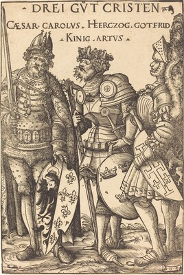 Charlemagne, Arthur and Godfrey