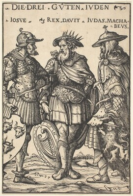 Joshua, David and Judas Maccabaeus