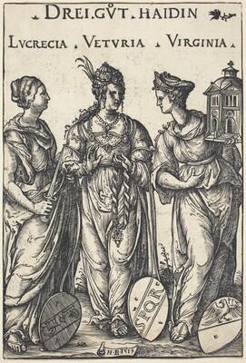 Lucretia, Veturia and Virginia