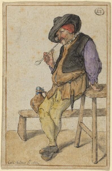 Peasant Smoking