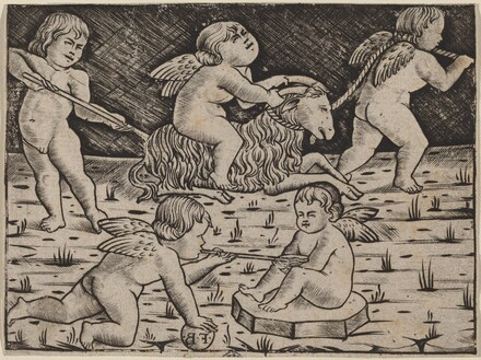 Five Cupids Playing