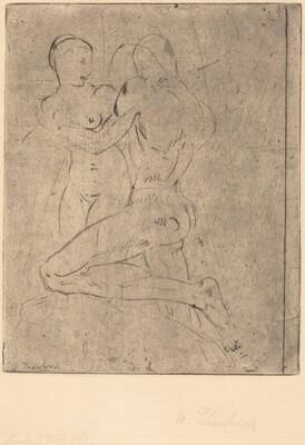 Rape II (Raub II, Weib halb)
