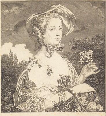 La Marquise de Pompadour en belle jardiniere