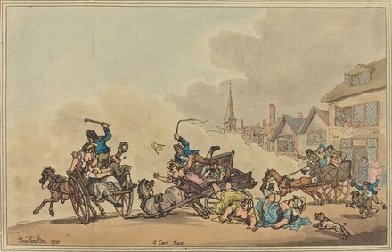 A Cart Race