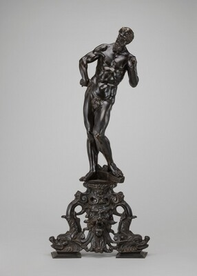 Andiron: Vulcan with His Anvil