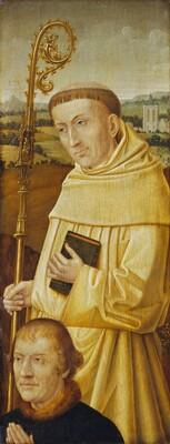 Saint Bernard with Donor [obverse]