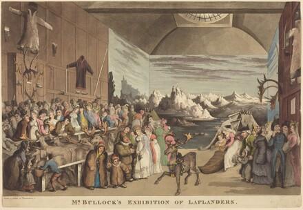 Mr. Bullock's Exhibition of Laplanders