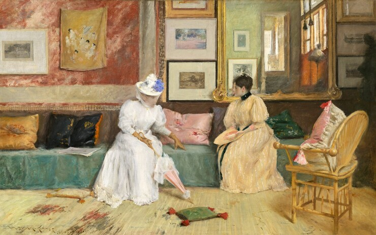 American Impressionists Of The Late 1800s And Early 1900s