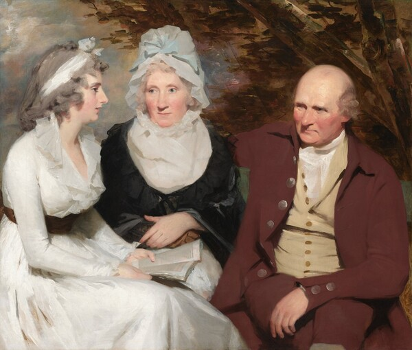 John Johnstone, Betty Johnstone, and Miss Wedderburn