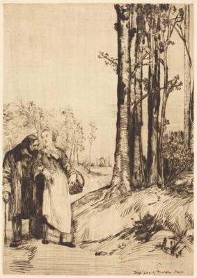 Stroll of the Convalescent (La promenade du convalescent)