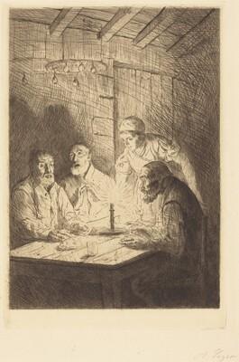Supper of the Poor (Le souper chez misere)