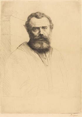 Self-Portrait, 3rd plate
