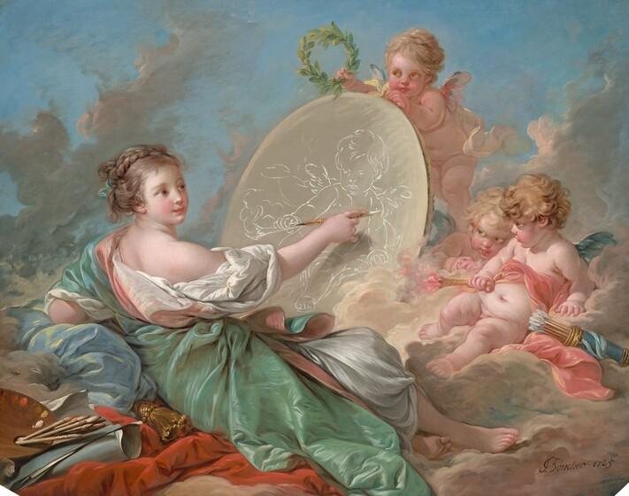 18th Century France Boucher And Fragonard