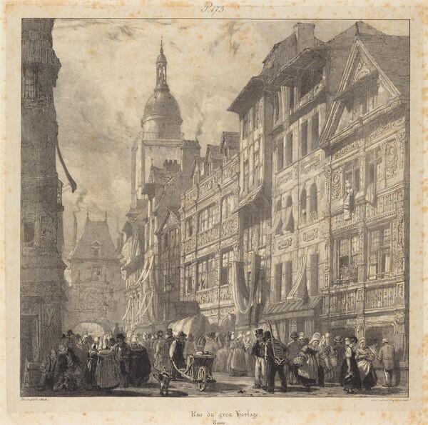 Rue du gros-horloge, Rouen