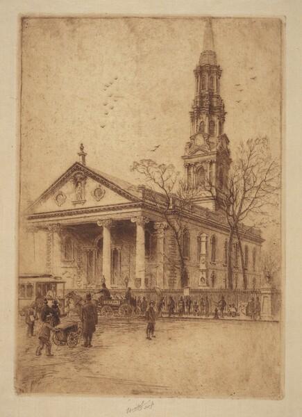 St. Paul's, Broadway, N.Y.