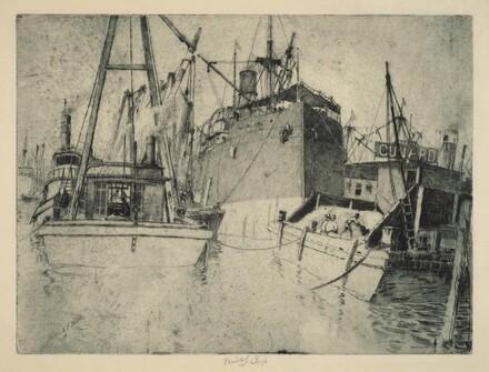 Chelsea Docks, Loading the Ship