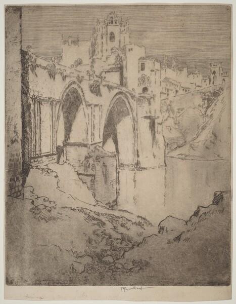Bridge of San Juan D'Los Reyos, Toledo