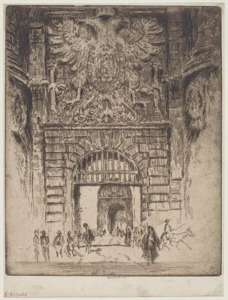 Puerta Visagara, Gate of Madrid, Toledo