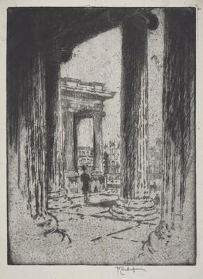 The Portico, British Museum