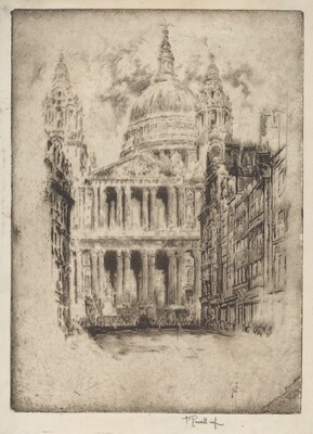 St. Paul's, Fleet Street, London