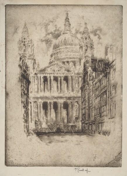 St. Paul's, Fleet Street, London