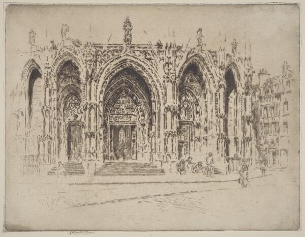 Porch of San Maclou, Rouen