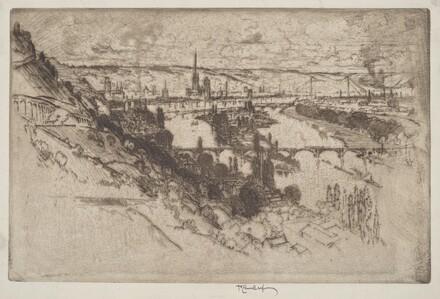 Rouen, from Bon Secours