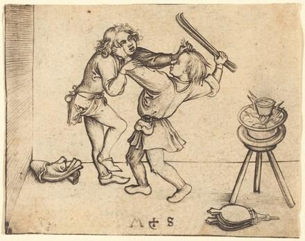 Apprentices Fighting