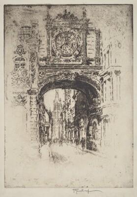 Grosse Horloge, Rouen