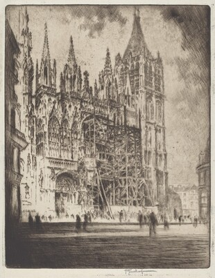 The West Front, Rouen Cathedral