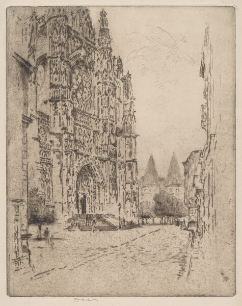 Towers of the Bishop's Palace, Beauvais