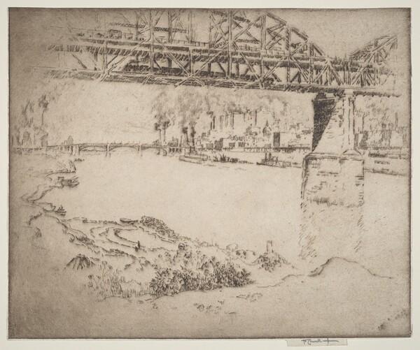 The City Bridge, St. Louis