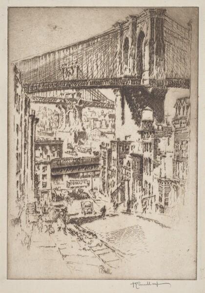 The Bridges, from Brooklyn