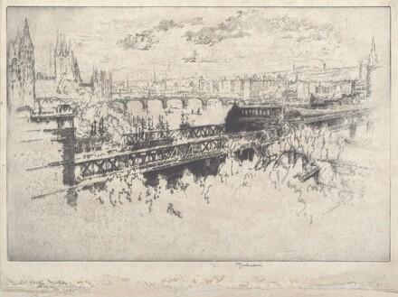 London over Charing Cross Bridge