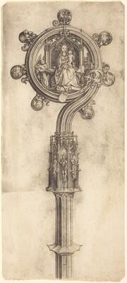 A Bishop's Crosier