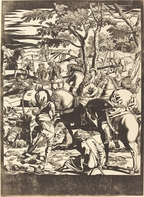 The Crucifixion [right plate]