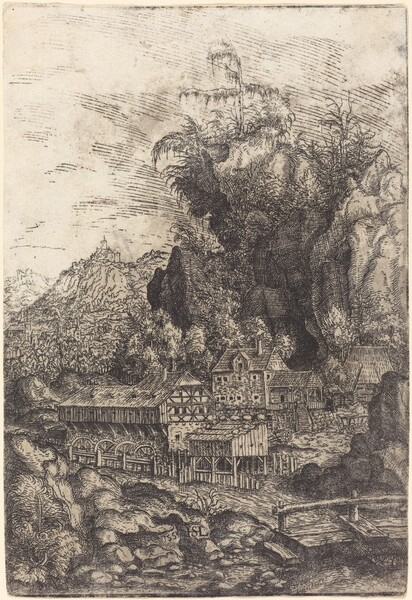 Landscape with a Water Mill