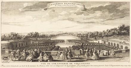 Vue de l'Orangerie de Versailles
